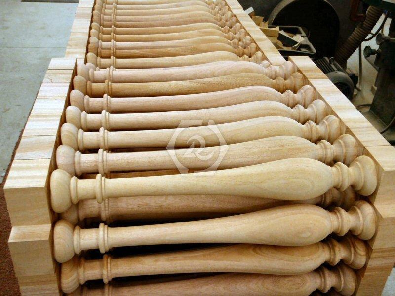 双轴数控木工车床样品