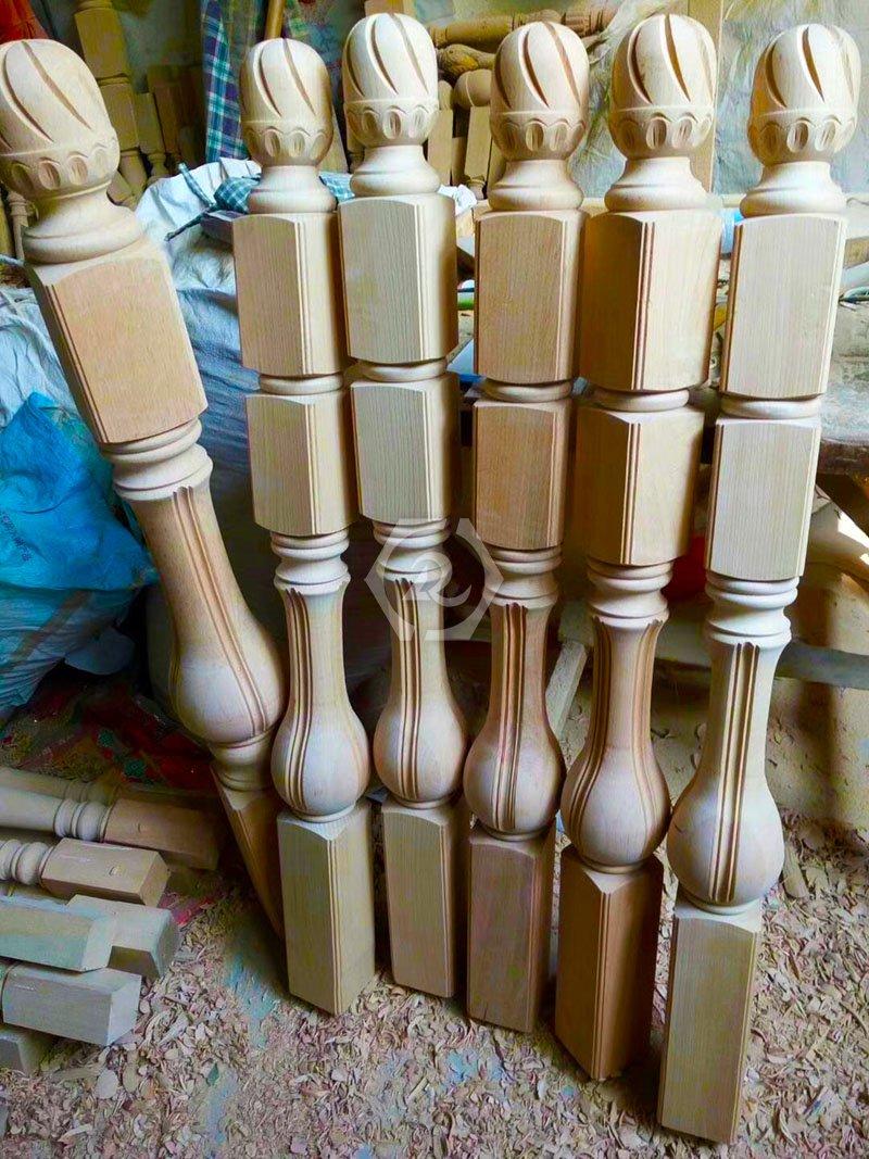 单轴数控木工车床样品